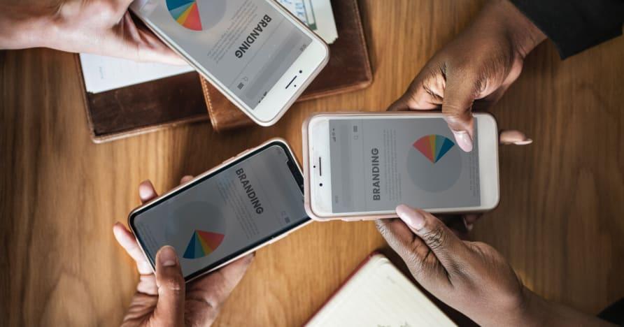 Популярность Увеличение Mobile Gaming