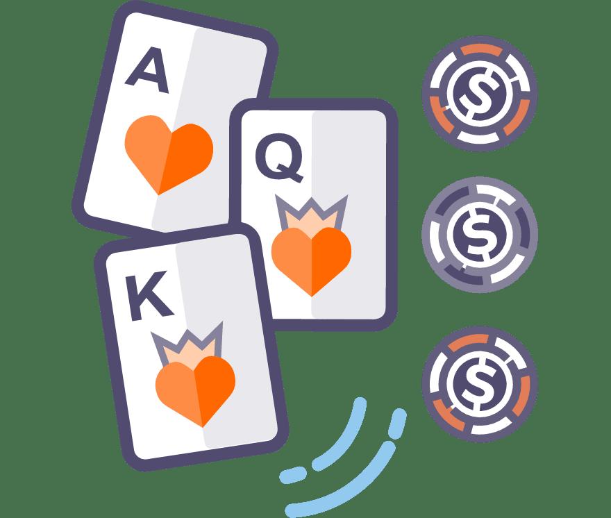 Лучшие Мобильное Казино в которых есть Трехкарточный покер в 2021 году
