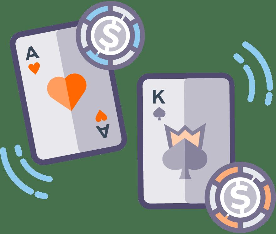 Лучшие Мобильное Казино в которых есть Casino War в 2021 году